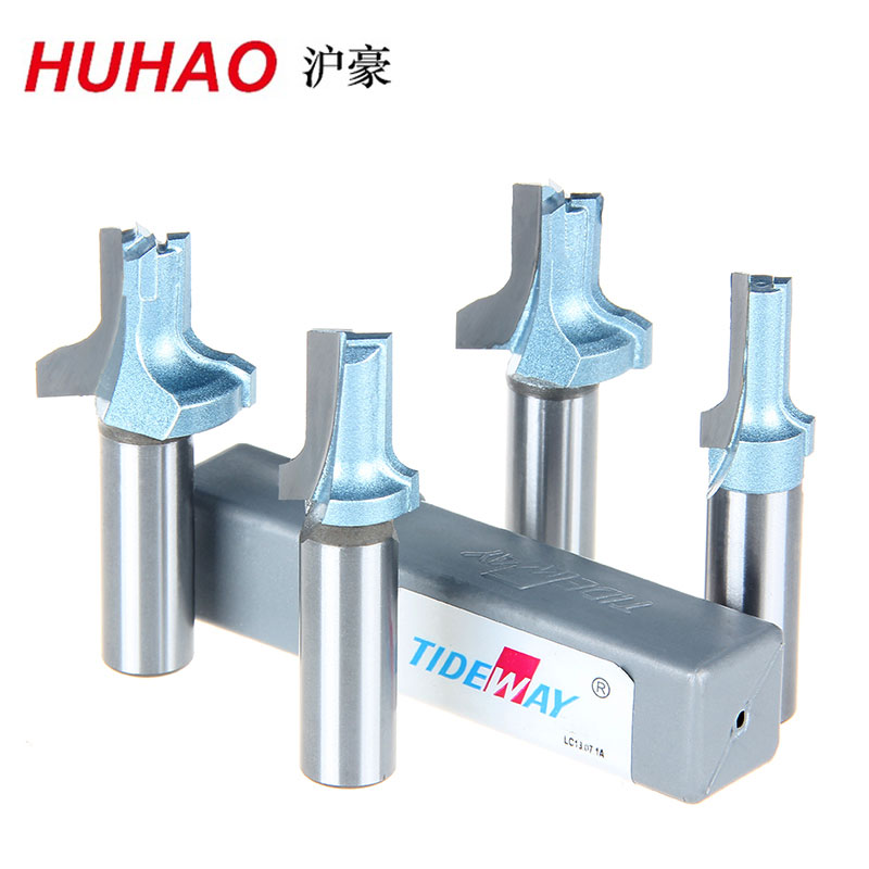 1/2*26.5 Woodworking End Bearing Dual Flute Flush Trim Router Cutter Bit Alloy Steel fit for Electric Router Tideway huhao 1pc bearing flush trim router bit