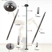 Stripper pole dance 360 Spin Professional Dance Pole Removable training Kit Ease Installation Spor Aletleri