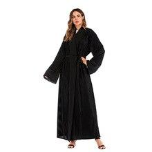 6973043f7 سترة مسلم عباية السعودية العربية مساء أثواب فساتين اللباس الرسمي للشرق  الأوسط النساء القطيفة مطوي اللباس