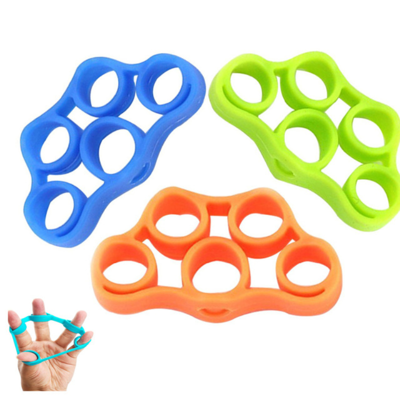 Finger Resistance Bands Finger Hand Grip Muscle Power Training Elastic Band Rubber Bands Hand Stretch Expander Fitness Equipment