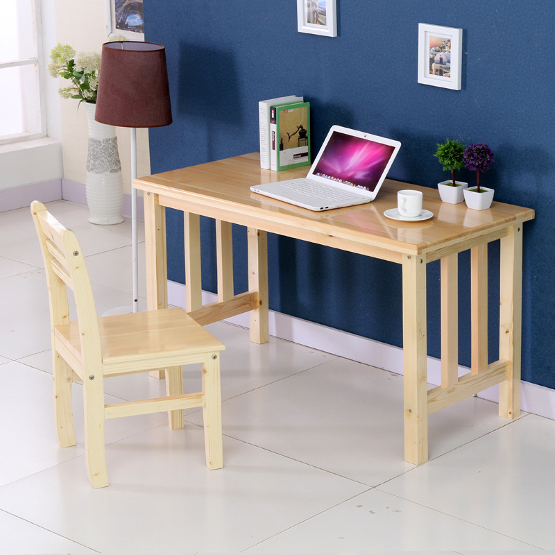 Computer Desk Pc Laptop Wood Table Home Office Study: Computer Desks Office Furniture Home Furniture Solid Wood