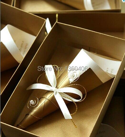 Luxury Scroll Wedding Invitations Card Party Wedding India Gold