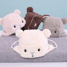 Soft Baby Hats Baby Bear Earmuff Winter Hat