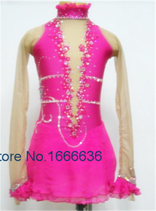 Professional Custom Figure Ice Skating Dresses For Girls New Brand Vogue Figure Skating Competition Dress DR2930