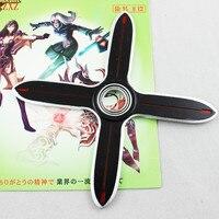 New HOT Hand Spinner LOL OW Genji Shadow Master Zed Shuriken High Quality Zinc Alloy Weapons