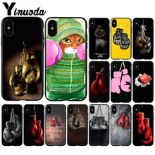 Yinuoda Boxing Gloves  Customer High Quality Phone Case for Apple iPhone 8 7 6 6S Plus X XS MAX 5 5S SE XR Mobile Cover yinuoda demi lovato customer high quality phone case for apple iphone 8 7 6 6s plus x xs max 5 5s se xr mobile cover