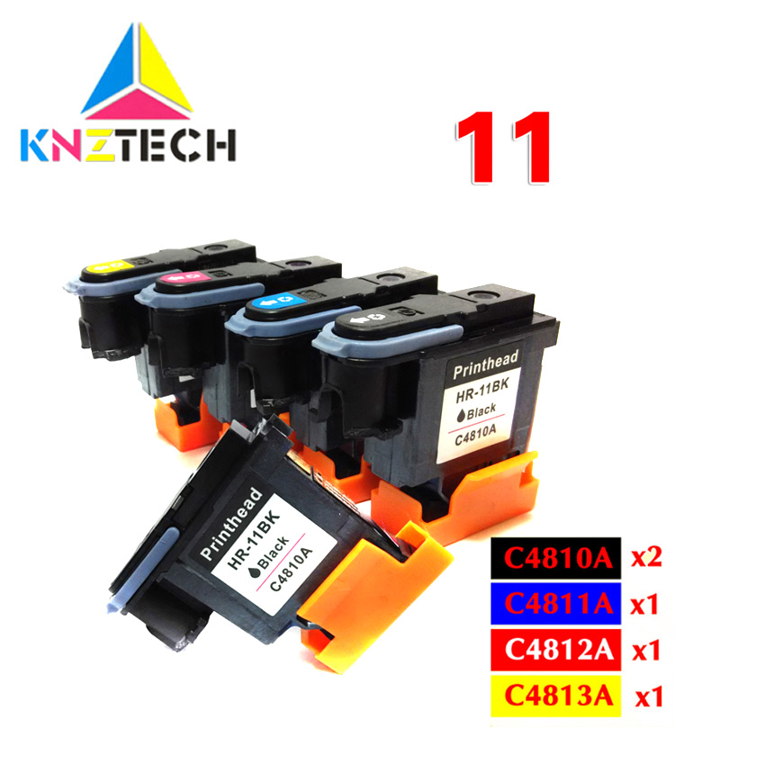 Print Head Compatible For Hp 11 Replacement For Hp11 Printhead C4810A C4811A C4812A C4813A Designjet 70 100 110 500 510 500PS