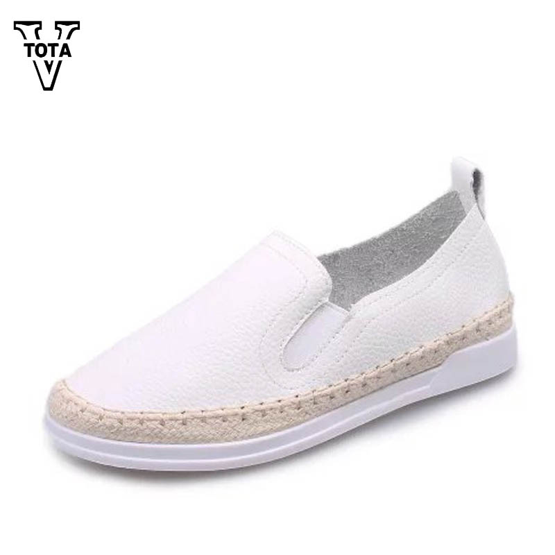 Autumn Winter Women's Shoes Pu Leather Flat Shoes Women Flats Solid Slip On Student Flat Shoes Woman Round Toe Work Shoes XY25 2016 autumn fashion women full grain leather flat heel white shoes student bling round toe leather brand basic flats loafers
