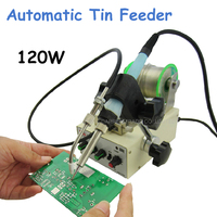 120W Automatic Tin Feeding Machine Constant Temperature Soldering Iron Teclast Multi function Foot Soldering Machine F3100D