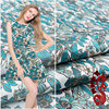 422 Factory Direct Sale Of Cherry Leaf Polyester Cotton Fabric All Over The Body Of A