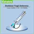 1710~2170MHz Outdoor antenna 9 Units Yagi Antenna for DCS1800Mhz PCS1900Mhz 3G WCDMA cellphone signal repeater