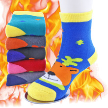Autumn And Winter Thick Warm Boys Girls Socks Children'S Socks 1-3-7-9-12 Years Old Baby Baby Terry  Cartoon socks T07 by terry hyaluronic sheer rouge 3 цвет 3 baby bloom variant hex name f3666e