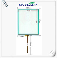 Original New 5 7 Inch 136mm 109mm LCD Touch Panel Digitizer For Industrial Equipment Touch Screen