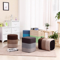 Solid Wood Stool Fashion Creative Stool Stool Stool For The Stool Fabric Pier Son Sofa Stool
