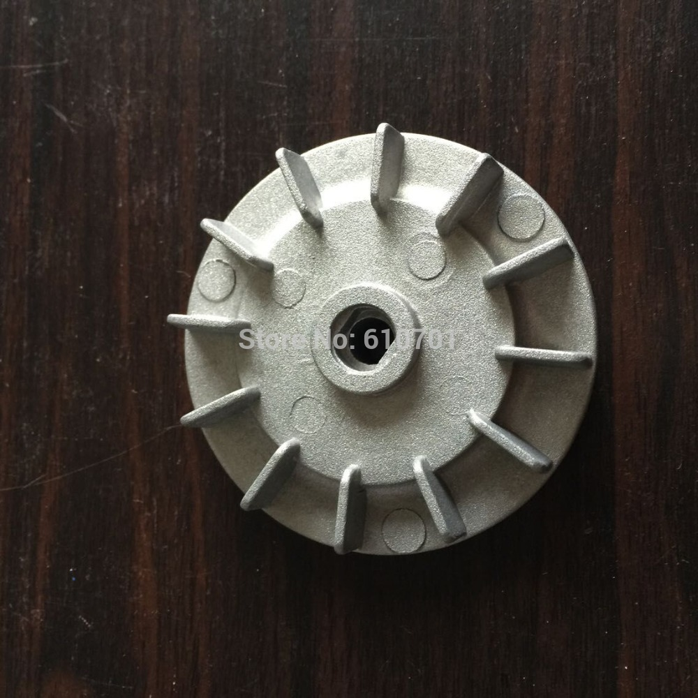 Electric Part Aluminium 12 Vanes Impeller Motor Fan Blade