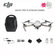 DJI MAVIC PRO PLATINUM fly more combo drone and standard set with 8331 propellers noise reduced by up to 4dB