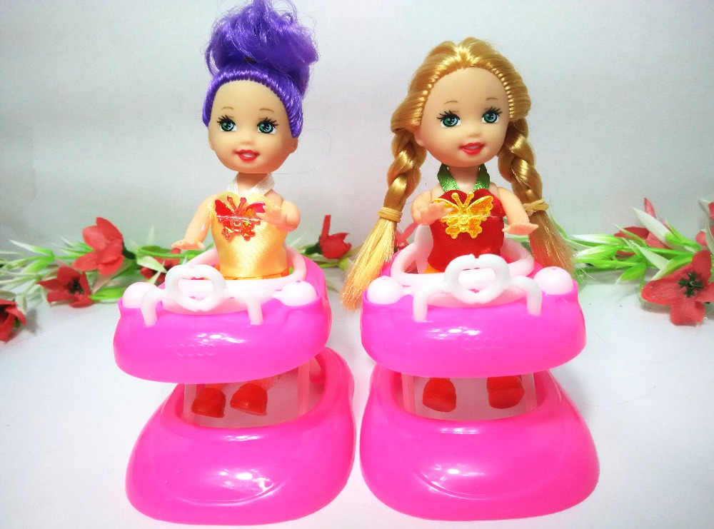 Kid s play house toys Including the kelly dolls Doll Accessories Handmade Doll s Plastic baby
