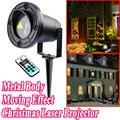 Luzes de natal Projetor Laser Ao Ar Livre Decoração do Ano Novo Para Casa Verde Vermelho Laser Mix Efeito de Movimento À Prova D' Água IP44