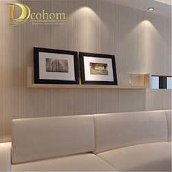Modern Minimalist Style Wall Paper Striped Solid Color Non Woven Wallpaper Living Room Tv Sofa Background Wallcovering R521