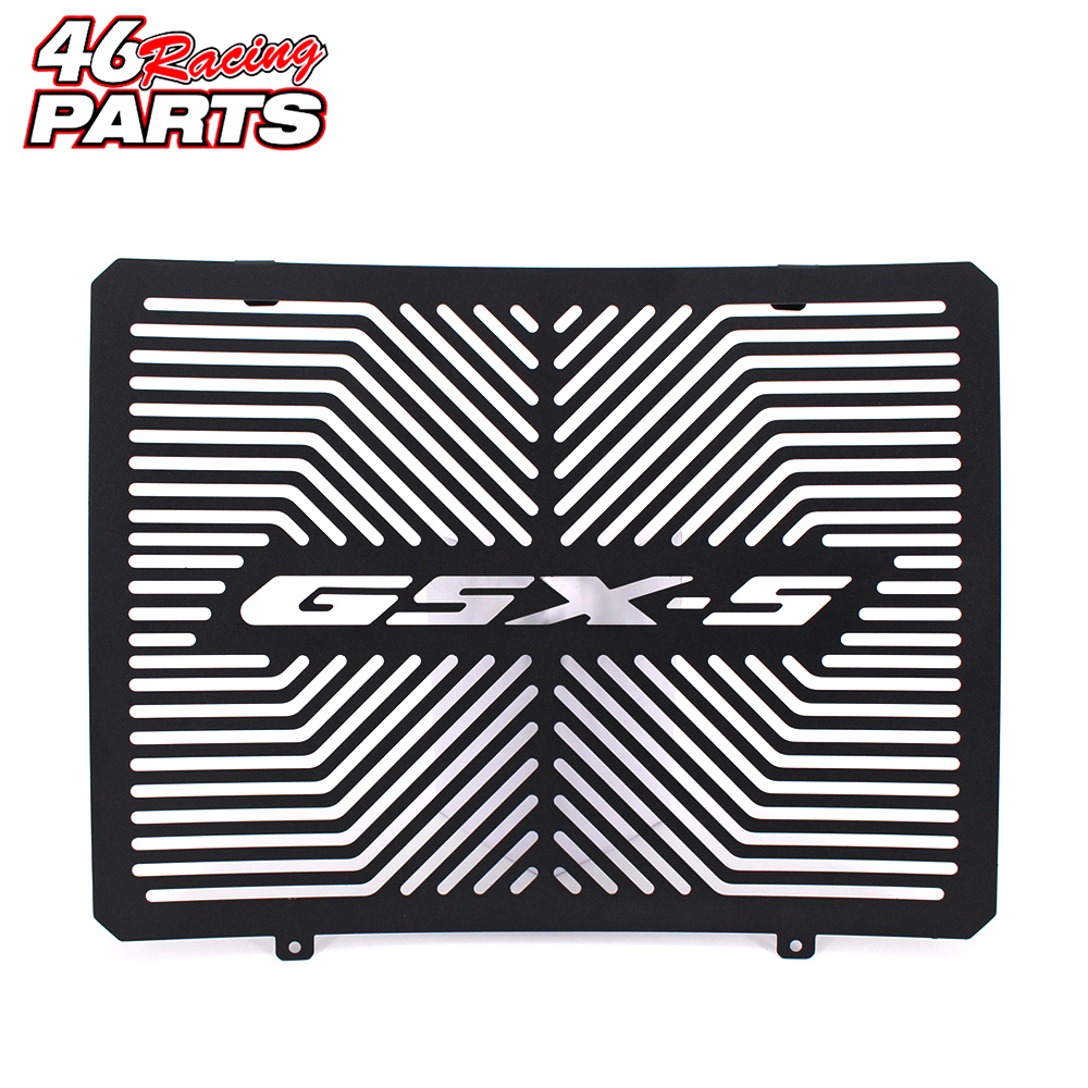 Black Motorcycle Accessories Radiator Guard Protector Grille Grill Cover For SUZUKI GSX S1000 GSX S 1000 GSX S1000 2015 2016