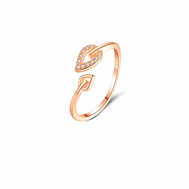 Fashion Alloy Heart Resizable Rings for Men Valentine's Gift Jewelry 2019