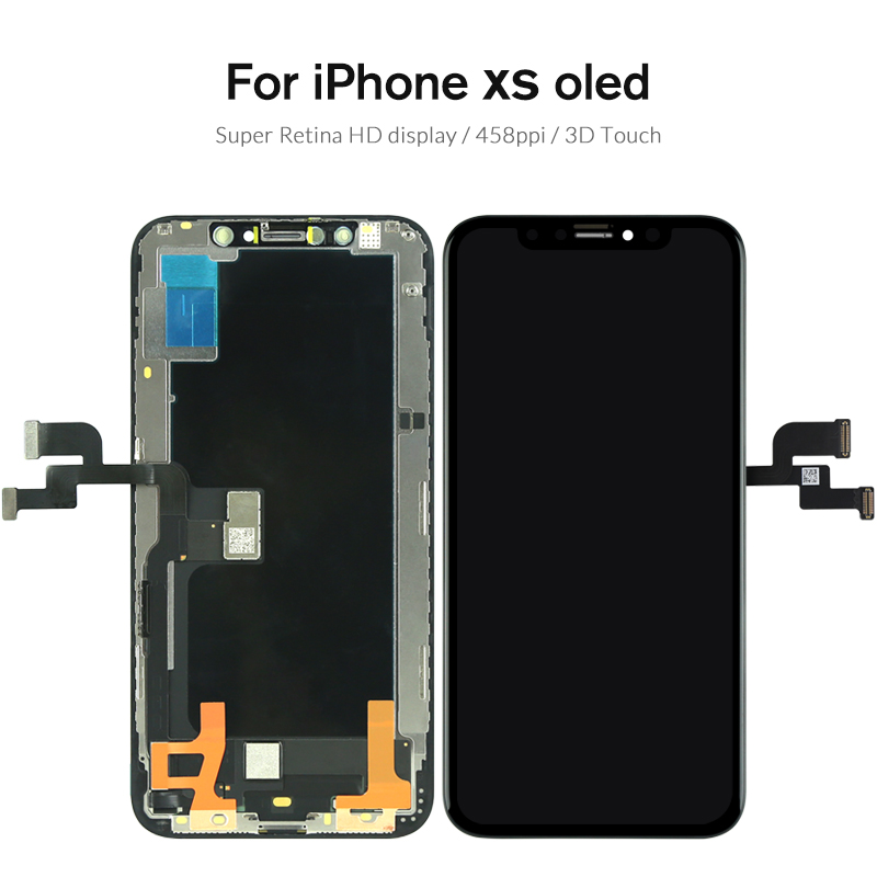 Pour iPhone X XS LCD écran tactile Aucun Pixel Mort AMOLED Panneau OEM Assemblée Pour iPhone XS Max XR écran LCD de Remplacement pièce de Rechange - 5