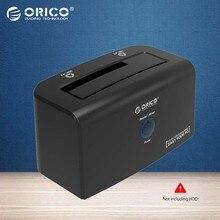 ORICO 8618SUS3 USB3.0 & e-SATA Внешний HDD Жесткий Диск и SSD Док-Станция для 2.5 и 3.5 дюймов SATA [поддержка 8 ТБ Диск]-Черный