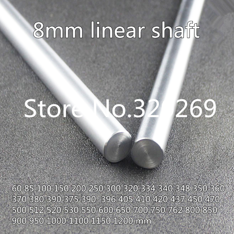 15mm Diámetro CNC Eje de carril linear del Cilindro Eje liso Varilla Cilindro de eje óptico