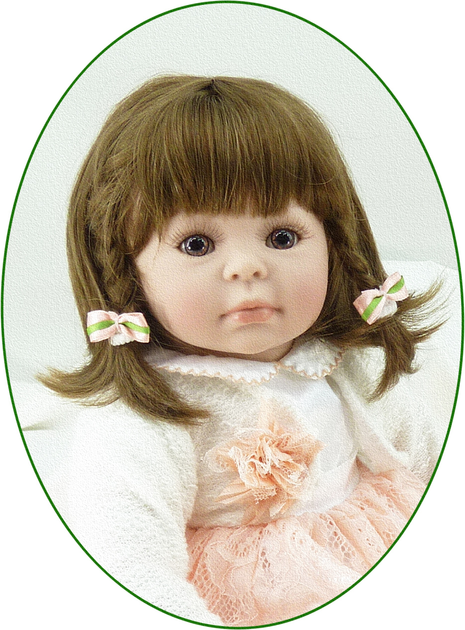 About 20 Silicone Vinyl Reborn Baby Doll toys accompany sleeping girl lifelike soft doll for birthday gifts lifelike american 18 inches girl doll prices toy for children vinyl princess doll toys girl newest design