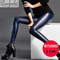 Faux Leather Leggings Sexy Pencil Pants Leggings Women Fashion High Waist Thick Plus Size Slim Winter Warm Skinny Pants Women