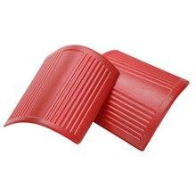 Красный Капот ABS Корнер Wrap Обложка для Jeep Wrangler 2007-2016 Колонки Cornerite Обложки Пластиковые Вытяжки Защитные Колпачки