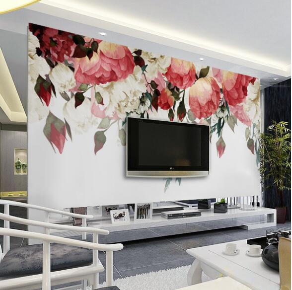 3d Nature Wallpapers Photo Mural Custom Wall Size For Living Room Bedroom Flower Murals Designer Cheap