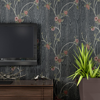 0.53*10 M Kabartmalı Kelebek Çiçek 3D Duvar Kağıdı Lüks Dayanıklı Yatak Odası/TV Kanepe Arkaplan/Salon ev Tasarımı Ücretsiz Kargo