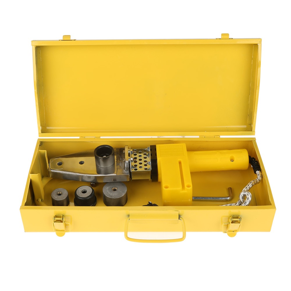 1 Pc 220V 600W Temperature Controlled Heating PPR PE PP Tube Pipe Welding Machine Heads Kits