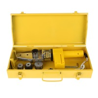 1 Pc 220V 600W Temperature Controlled Heating PPR PE PP Tube Pipe Welding Machine + Heads Kits.