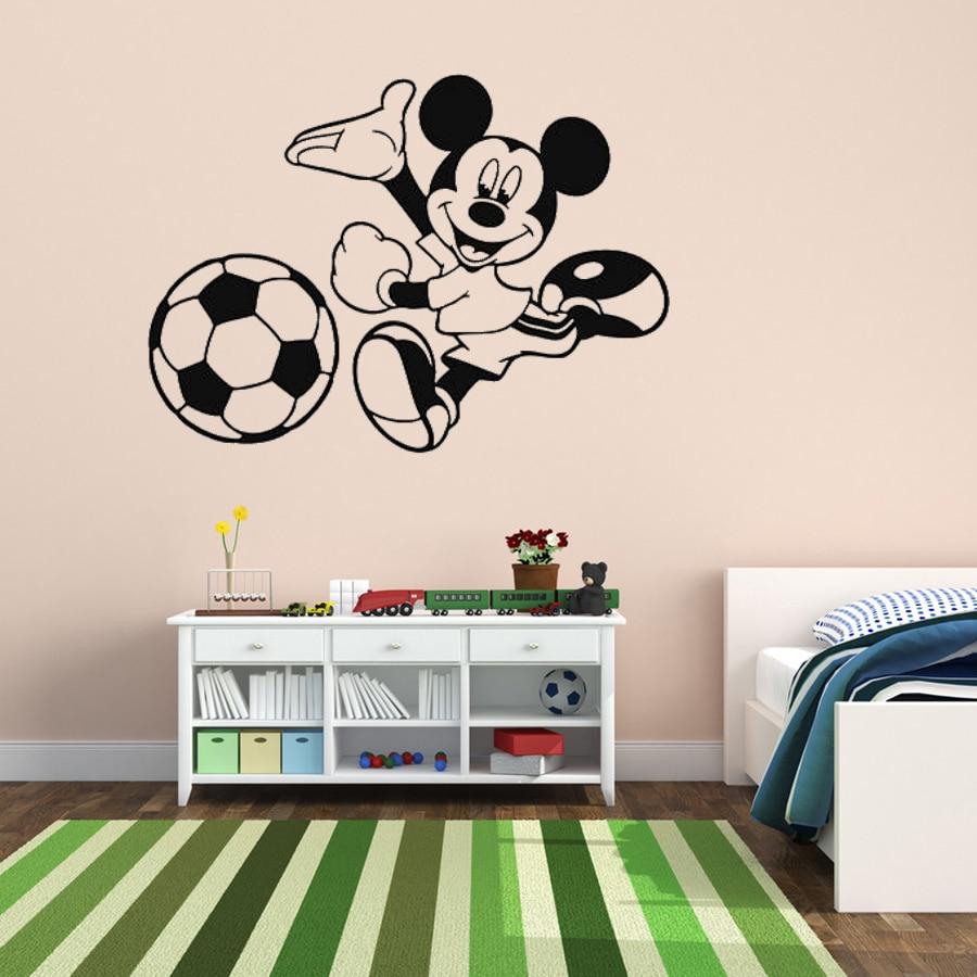 Footballs Wall Decal Art Stickers football sport bedroom nursery playroom