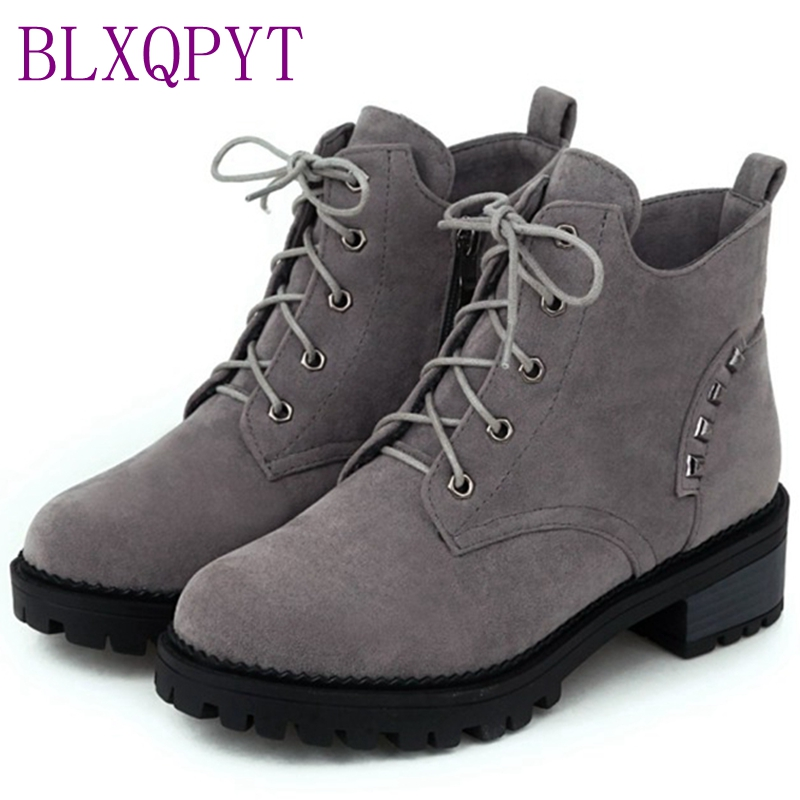 BLXQPYT Direct Selling New Arrival Creepers Plus Size Ladies Shoes Sexy Women Falts Sapato Feminino Style Chaussure Femme 956-1