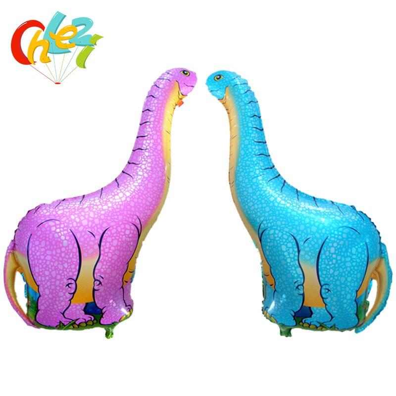 Ev ve Bahçe'ten Balonlar ve Aksesuarları'de 50 adet/grup 96x68 cm büyük Dinozor Alüminyum Folyo Balonlar Jurassic Dünya Globos Doğum Günü Partisi Pet Tema Süslemeleri Çocuklar oyuncaklar'da  Grup 1