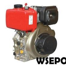 Прямая поставка с фабрики! WSE-170F 4HP 211CC Diret инжектор с воздушным охлаждением небольшой дизельный двигатель для генератора/водяной насос/сельскохозяйственный культиватор