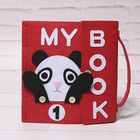 My First Book Quiet Baby Early Book Special Gift For Kid Felt DIY Books Handmade Special Gift For Kid Felt DIY Package