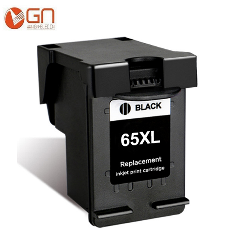 GN 1BK 65 Remanufactured for HP 65XL ink cartridge for HP ...