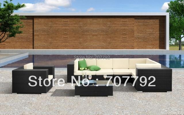 Alle Wetter Cartagena Modulare Sammlung Gartenmöbel Rattan Sofa Set