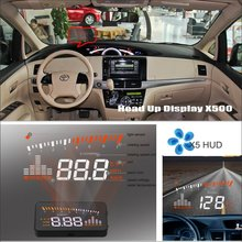 Liislee Car HUD Safe Drive Display For Toyota Fortuner SW4 2005~2012 - Refkecting Windshield Head Up Display Screen Projector