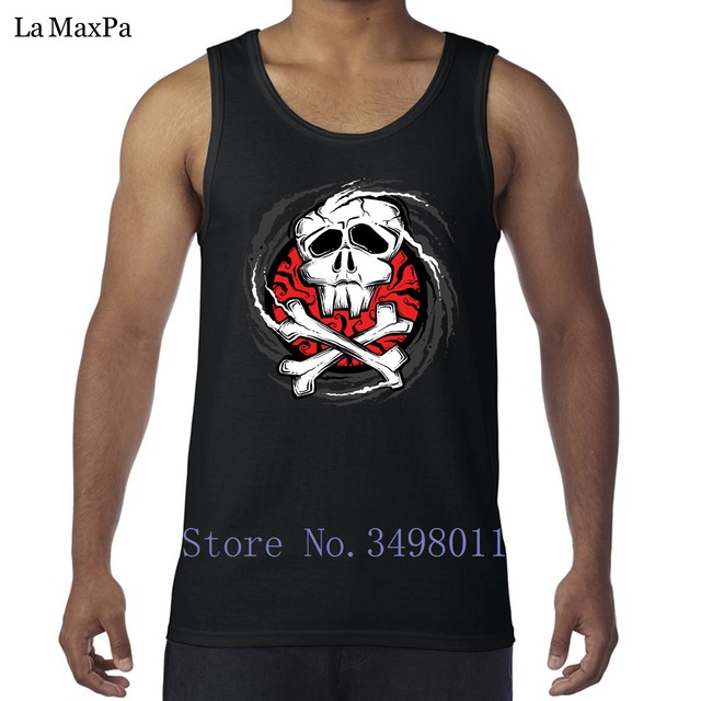 designs letter jolly roger man tank tops singlets new fashion vests