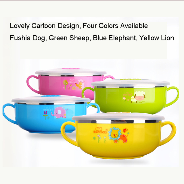 Stainless Steel Baby Feeding Bowl Children Dinnerware BPA Free Feeding Baby Cup Spill Free Food Container  sc 1 st  AliExpress.com & Stainless Steel Baby Feeding Bowl Children Dinnerware BPA Free ...