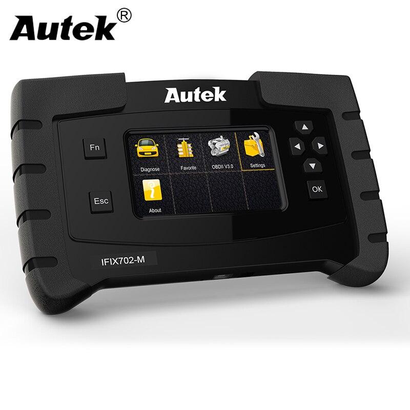 Scanner de Diagnostic de voiture Autek IFIX702M OBD2 pour Mercedes Benz W202 W210 Benz moteur ABS SRS Airbag boîte de vitesses ODB outil de Diagnostic