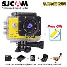 Original sjcam sj5000 wifi action camera 1080 p full hd sports DV 2.0 Mergulho 30 M Novatek 96655 À Prova D' Água Filmadora mini SJ 5000