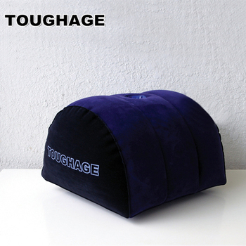 TOUGHAGE Sex poduszka nadmuchiwane Sex poduszka dla łatwego sex postawa Sex meble sofa dla pary bedToys PF3103 Drop shipping tanie i dobre opinie sex cushion Seks meble