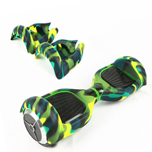 "Funda de silicona shell protector impermeable para oxboard hoverboard 6.5 ""manga de auto equilibrio scooter eléctrico de 2 ruedas inteligente"