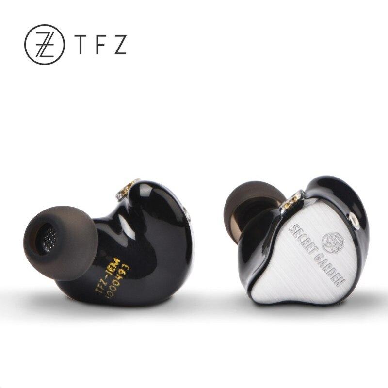 TFZ SECRET JARDIN HiFi HD Voiture Dynamique In-Ear écouteurs avec 2Pin/0.78mm Amovible IEM Riche Basse